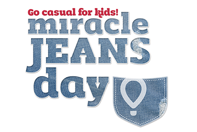 Logo for Miracle Jeans Day