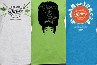 Choose from three trendy T-shirt designs to help support CCUL-PAC.
