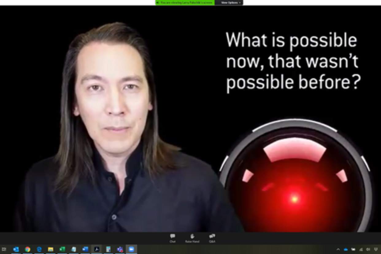 Mike Walsh, CEO of Tomorrow, a global consultancy on designing companies for the 21st Century