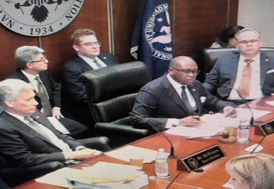 The latest National Credit Union Administration (NCUA) board meeting.