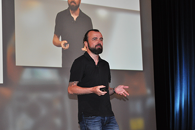 "Scott Stratten, ""un-marketing"" industry innovator and best-selling author"